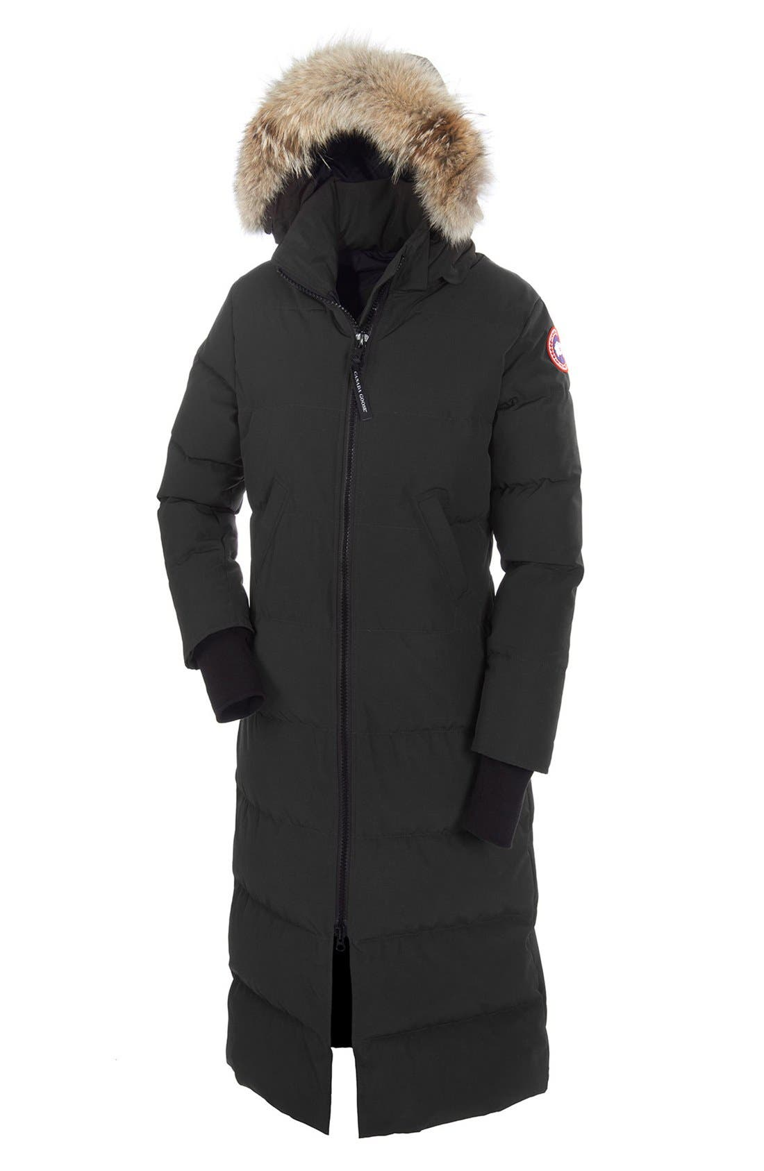 canada goose women's kensington parka red