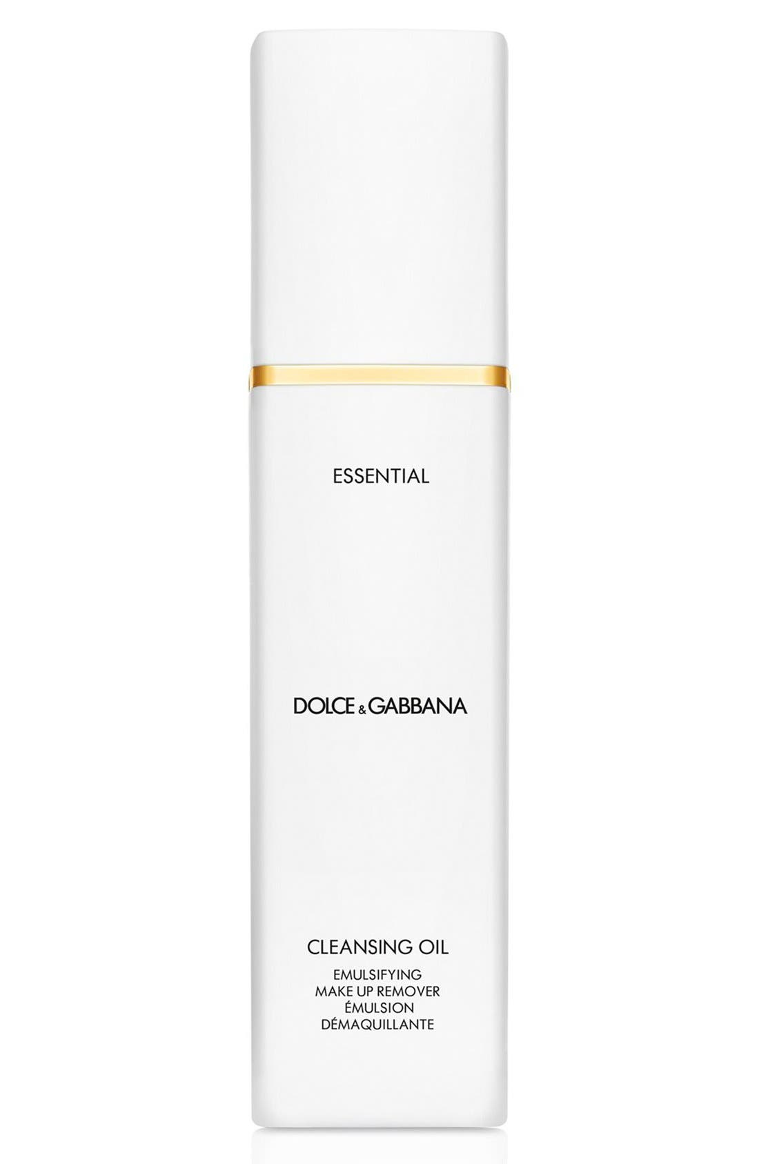 Dolce&GabbanaBeauty 'Essential' Cleansing Oil Emulsifying Makeup Remover