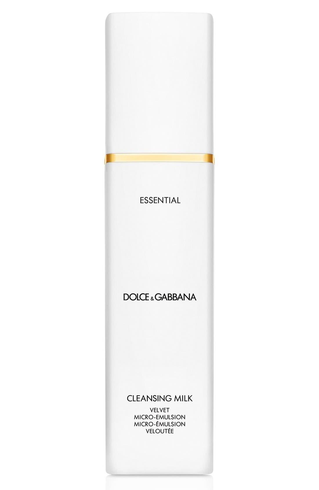 Dolce&GabbanaBeauty 'Essential' Cleansing Milk Velvet Micro-Emulsion