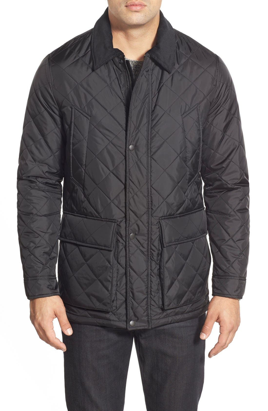 Main Image - Cole Haan Quilted Jacket