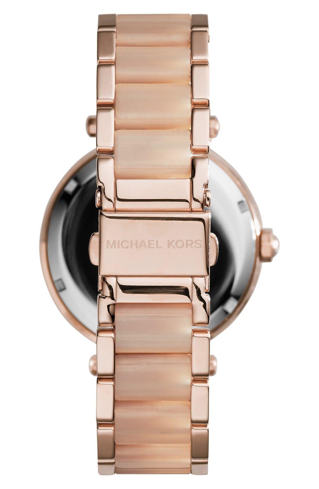 Alternate Image 2  - Michael Kors'Parker' Bracelet Watch,39mm
