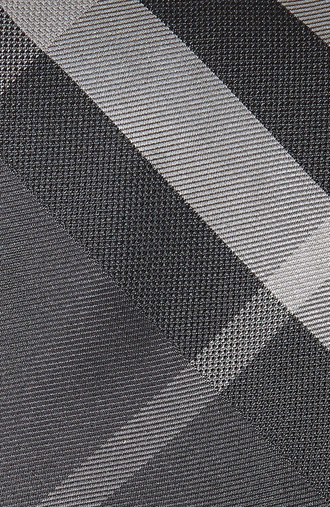 Alternate Image 2  - Burberry Manston Check Silk Tie