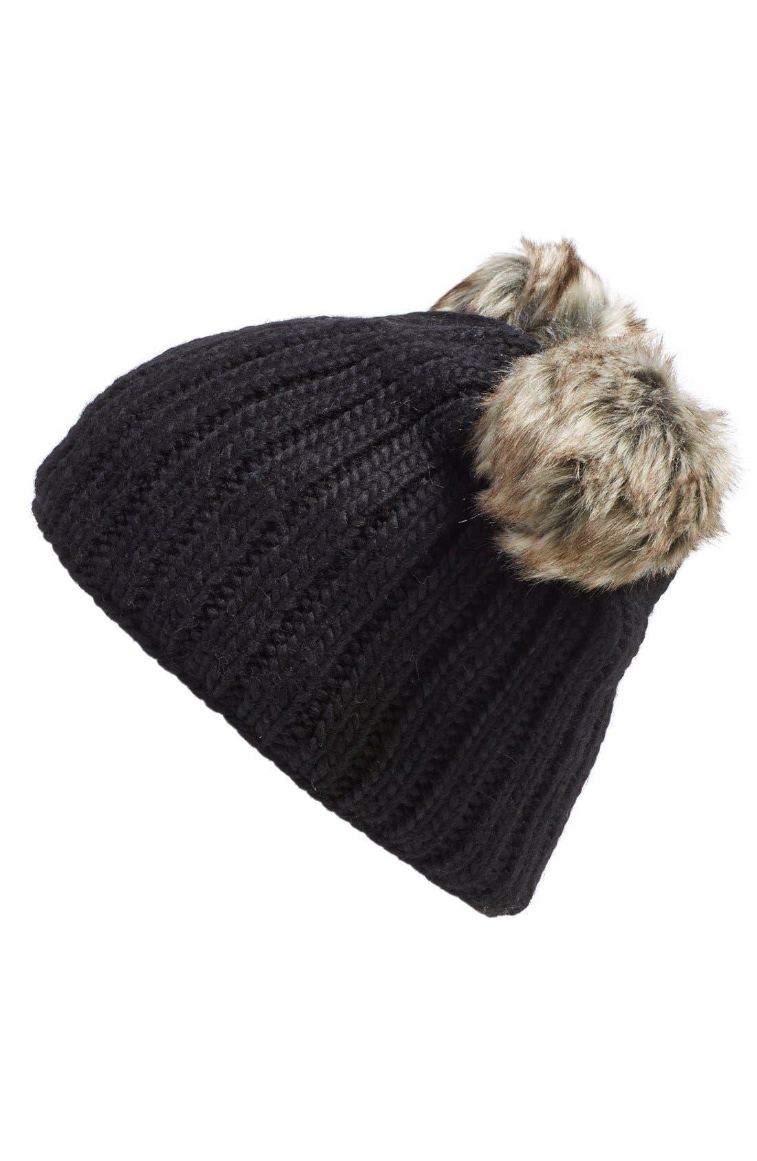 Nirvanna Designs 'DoublePom' Knit Beanie