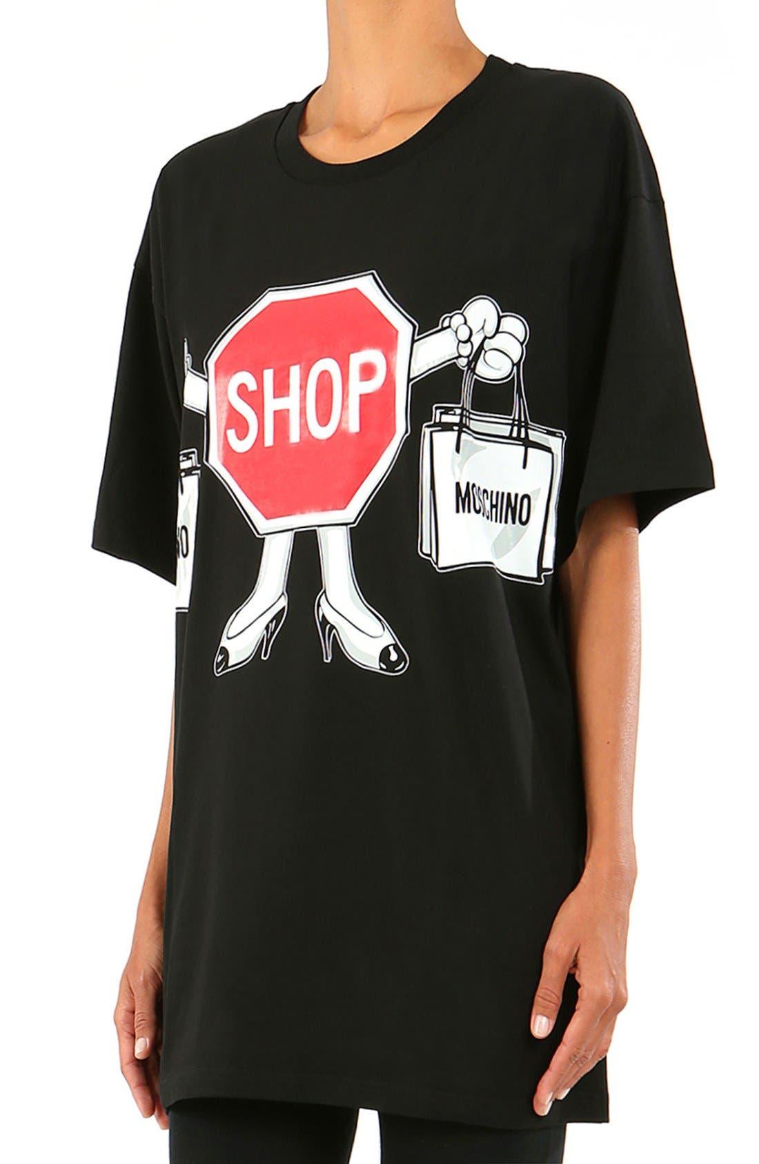 Alternate Image 4  - Moschino'1st Story' Short Sleeve Graphic Tee