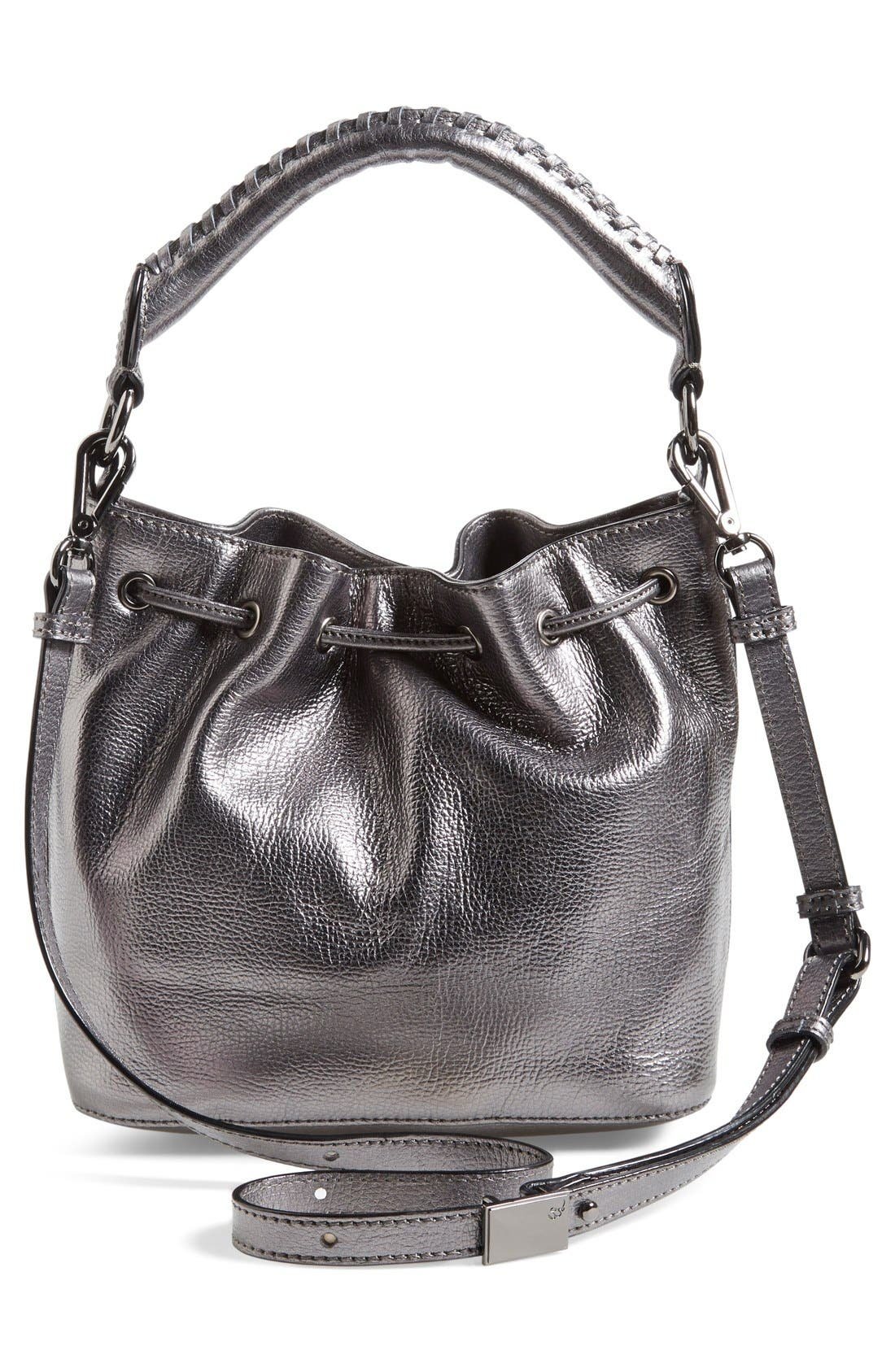 Alternate Image 3  - Elliott Lucca 'Gigi Bon Bon' Leather Bucket Bag
