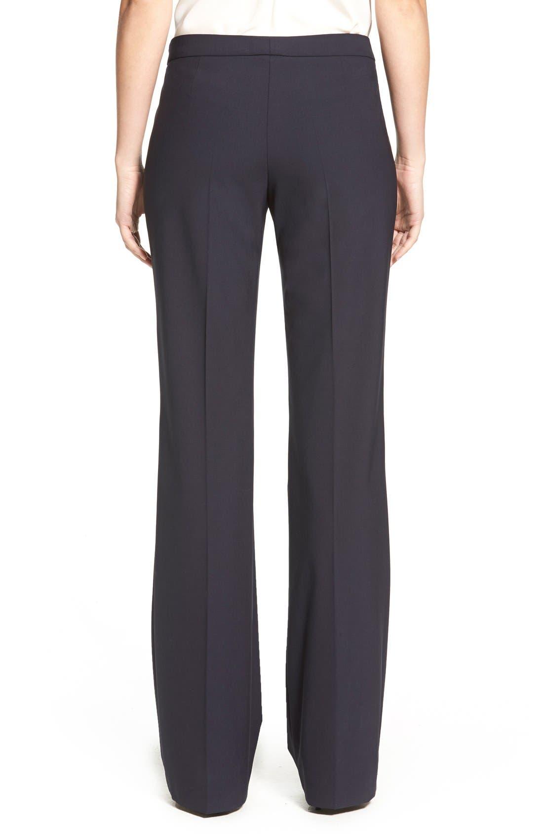 Alternate Image 2  - BOSS Tulea Bootcut Stretch Wool Suit Trousers (Regular & Petite)