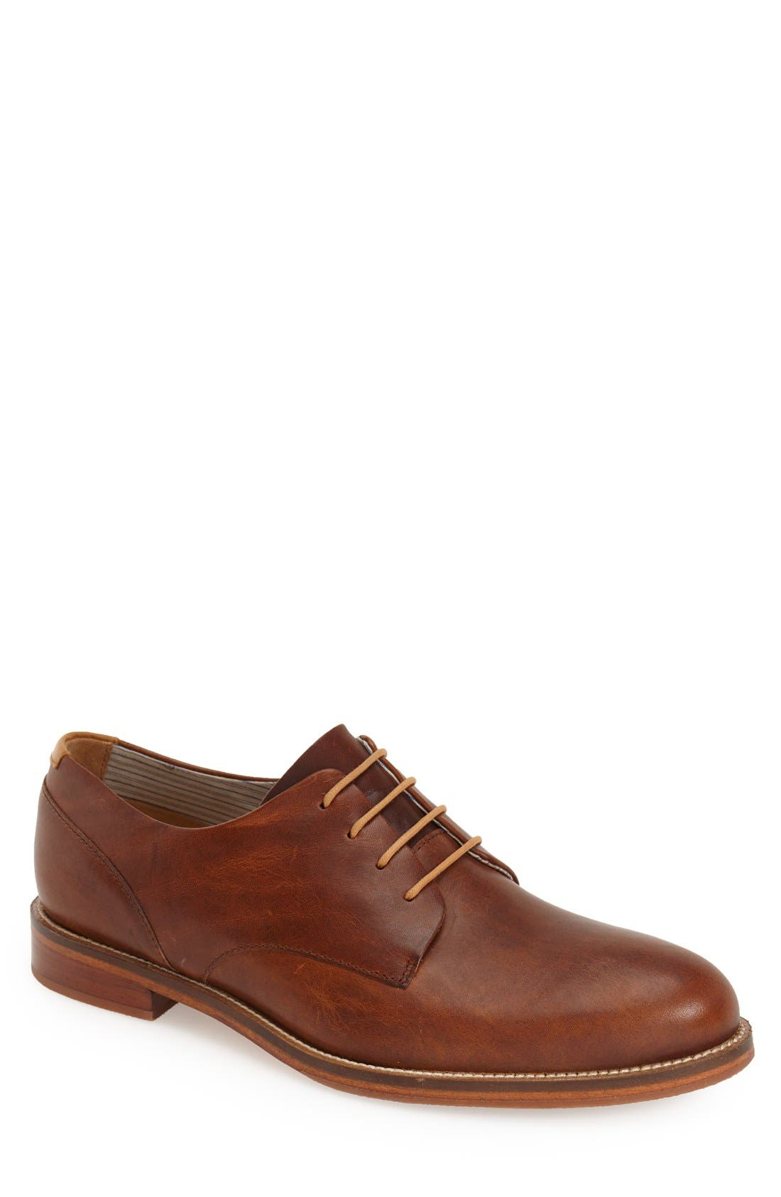 J SHOES William Plus Plain Toe Derby