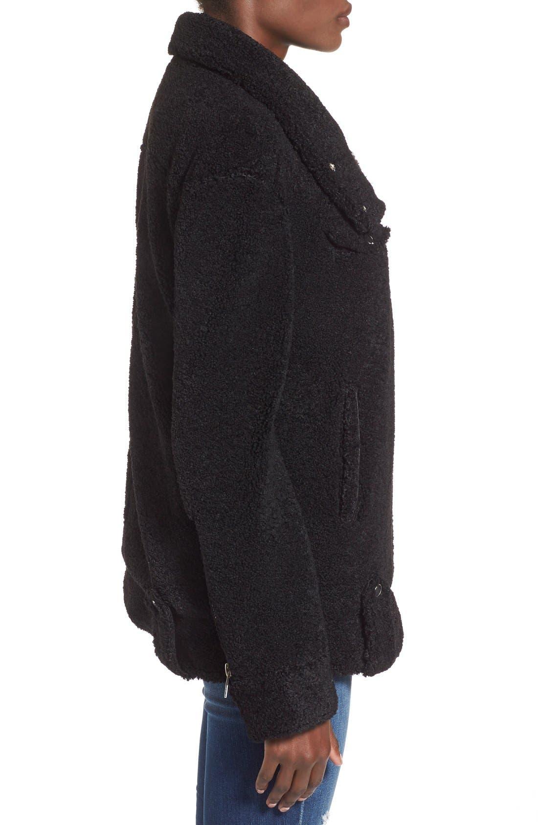 Alternate Image 3  - BLANKNYC 'Teddy' Moto Jacket