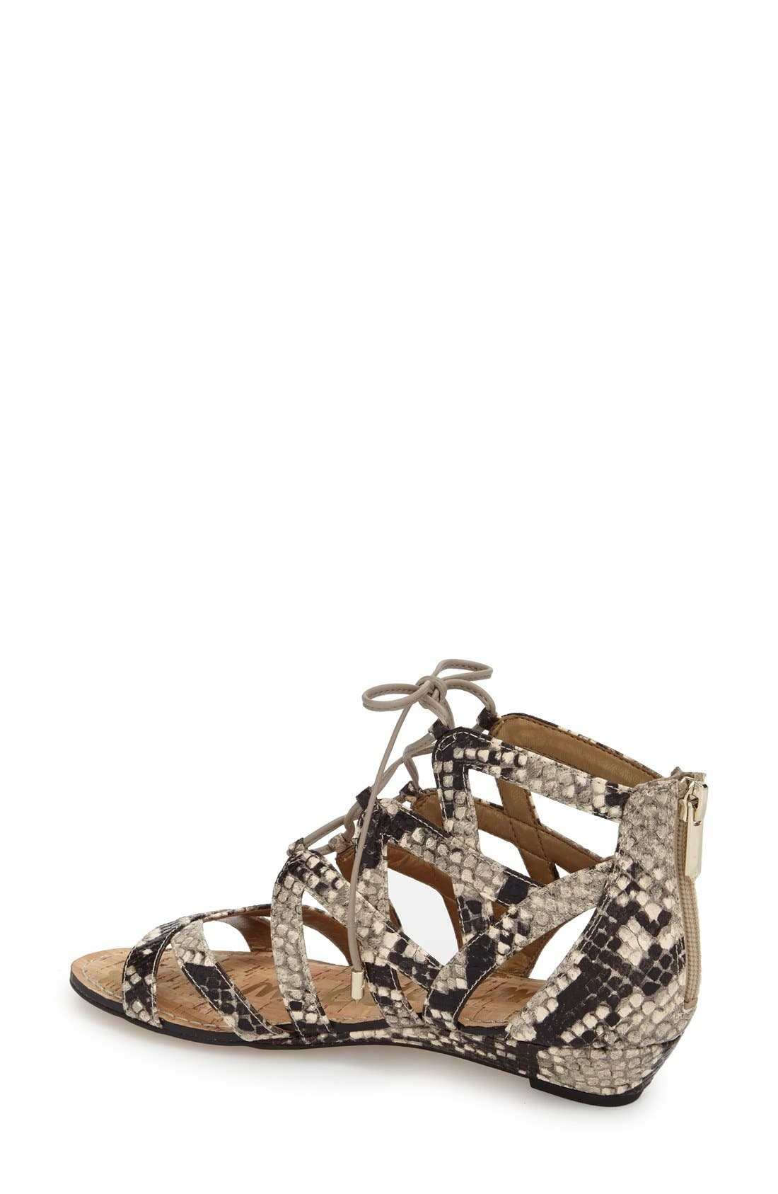 Alternate Image 2  - Sam Edelman 'Dawson' Ghillie Sandal (Women)