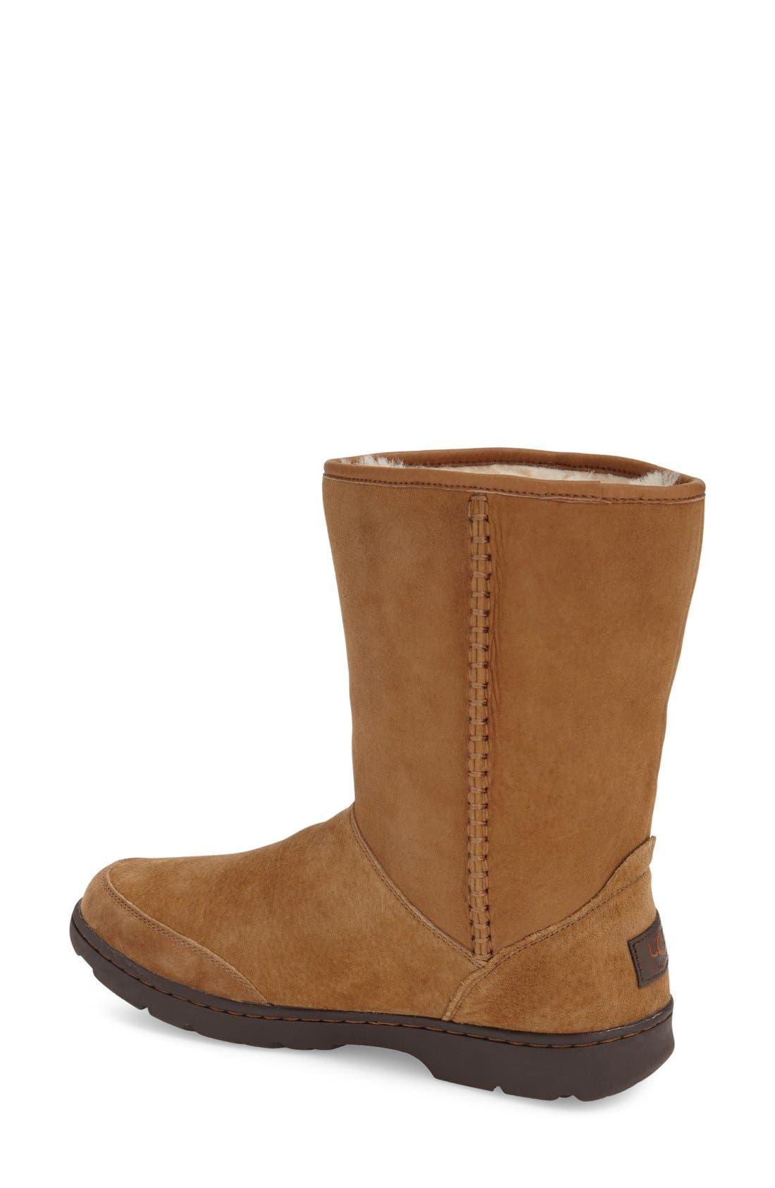 Alternate Image 2  - UGG®Michaela Waterproof Suede Boot (Women)