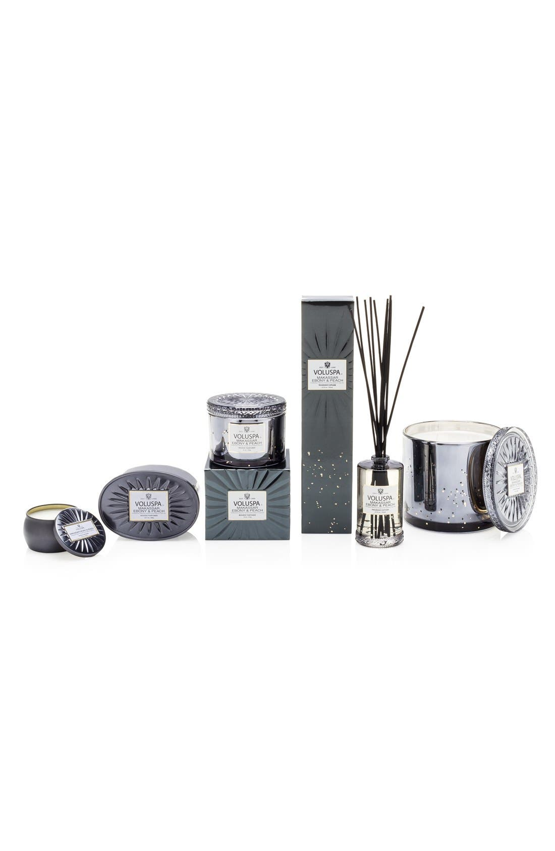 'Vermeil - Makassar Ebony & Peach' Two-Wick Candle,                             Alternate thumbnail 2, color,                             No Color