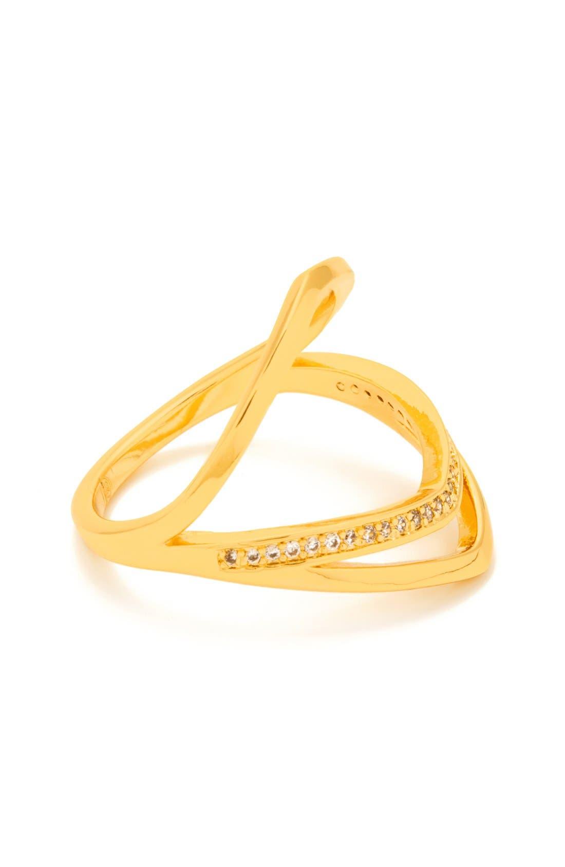 Alternate Image 2  - gorjana 'Cress Shimmer' Split Ring