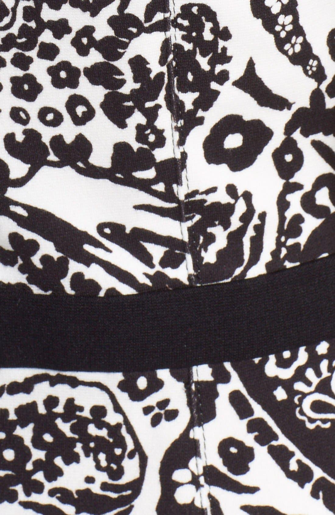 Alternate Image 3  - Etro Paisley Print Stretch Jersey Dress