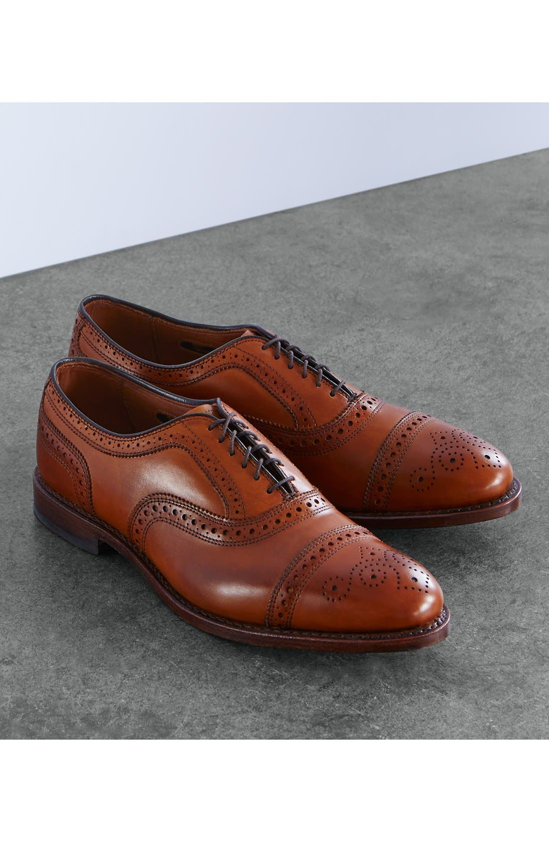 Alternate Image 6  - Allen Edmonds 'Strand' Cap Toe Oxford (Men)