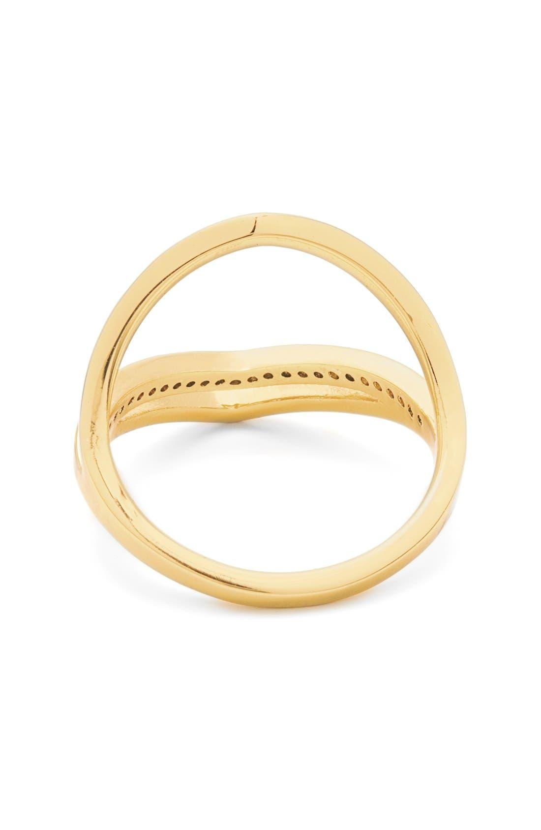 Alternate Image 3  - gorjana 'Cress Shimmer' Split Ring