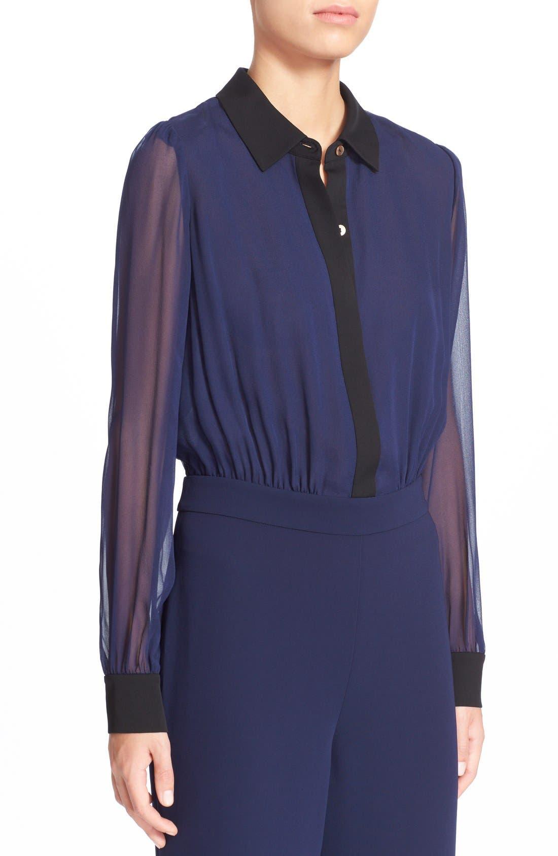 Alternate Image 4  - Diane von Furstenberg 'Mariah' Silk Jumpsuit