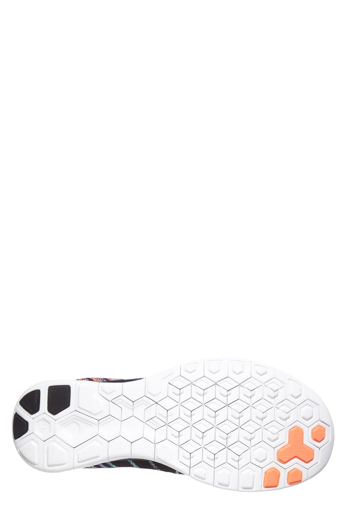 Alternate Image 4  - Nike 'Free Flyknit 4.0' Running Shoe (Men)