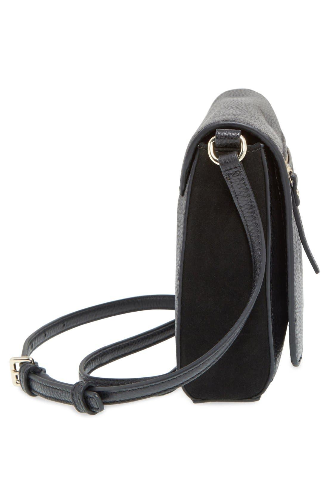 Alternate Image 5  - kate spade new york 'matthews drive - patty' leather & suede crossbody bag