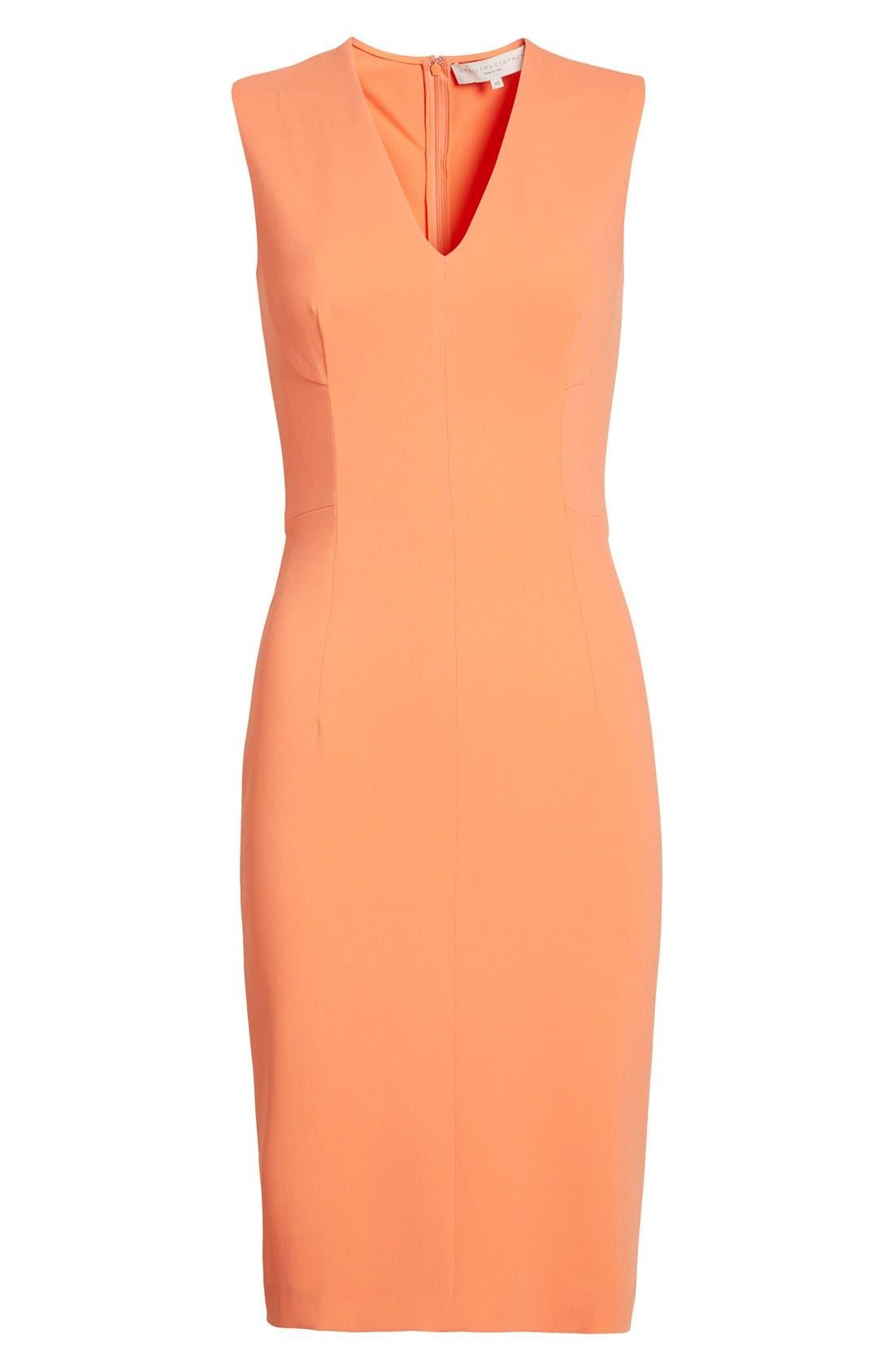 Alternate Image 4  - Stella McCartney 'Simona' Sleeveless V-Neck Dress