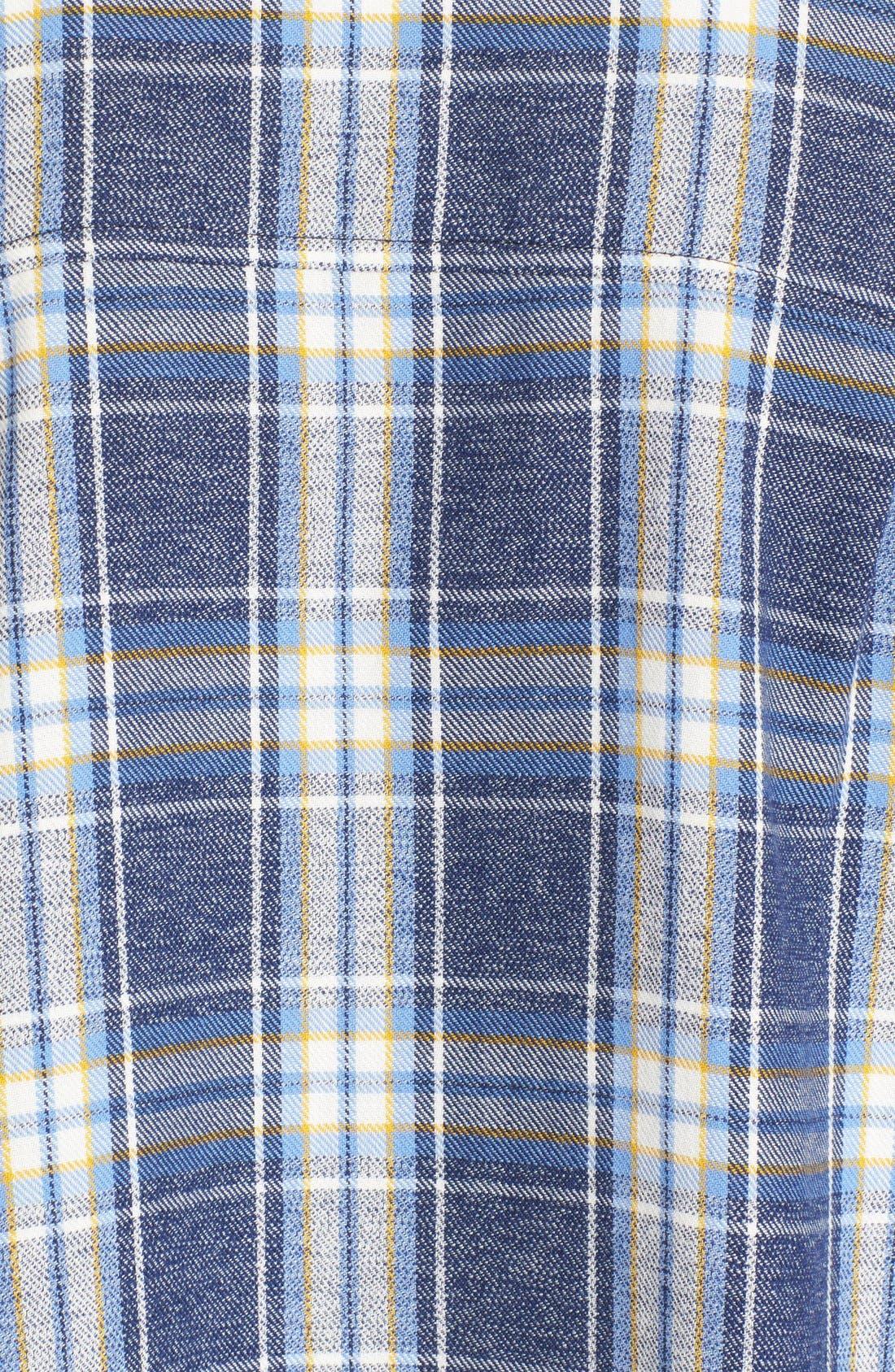 Alternate Image 5  - 6397 'Lori' Cotton Flannel Shirt