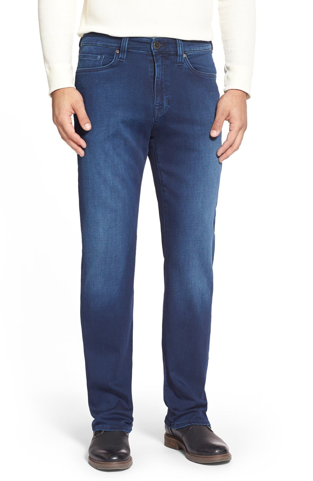 'Charisma' Relaxed Fit Jeans,                             Main thumbnail 1, color,                             Select Indigo