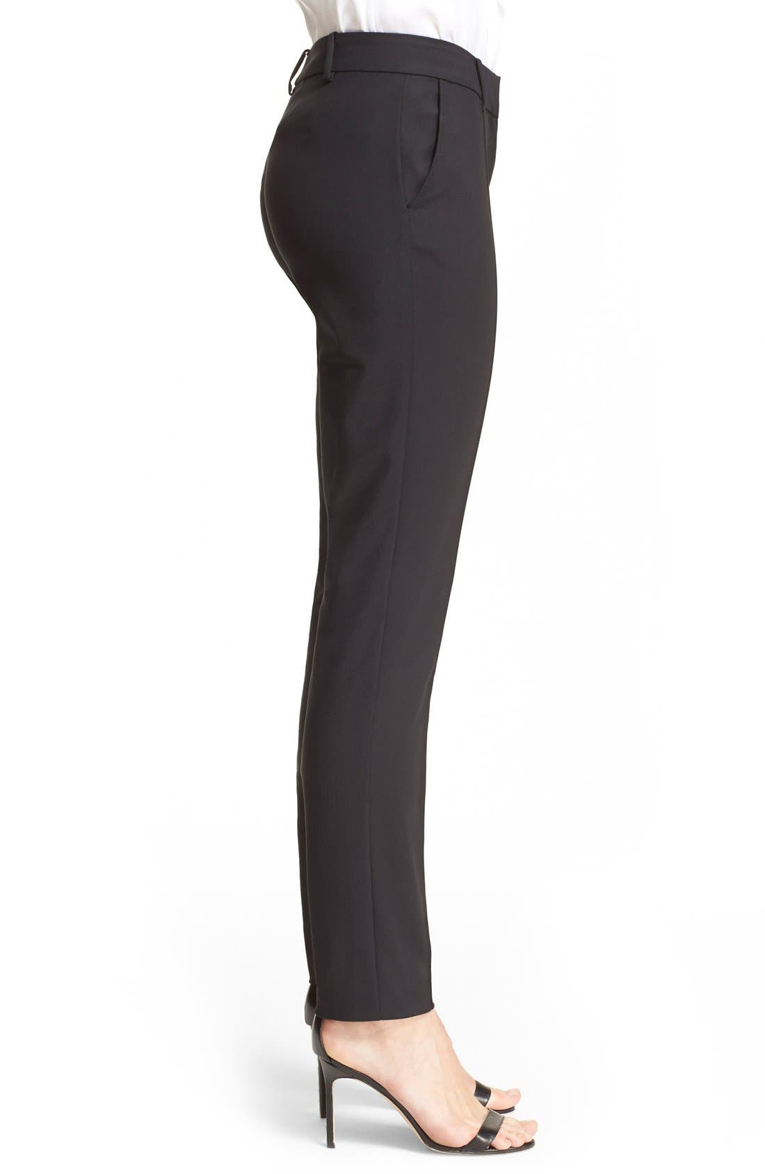 Alternate Image 5  - St. John Collection 'Jennifer' Stretch Micro Ottoman Ankle Pants