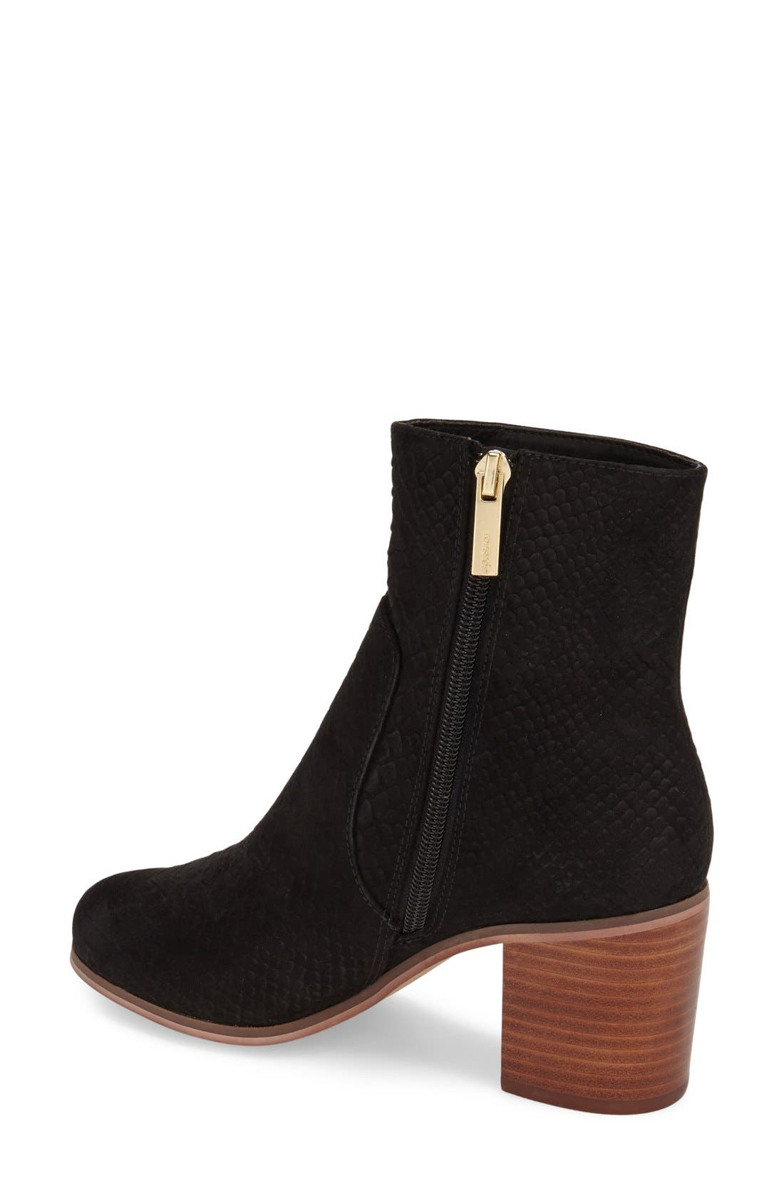 Alternate Image 2  - Topshop 'Bless' Ankle Bootie (Women)
