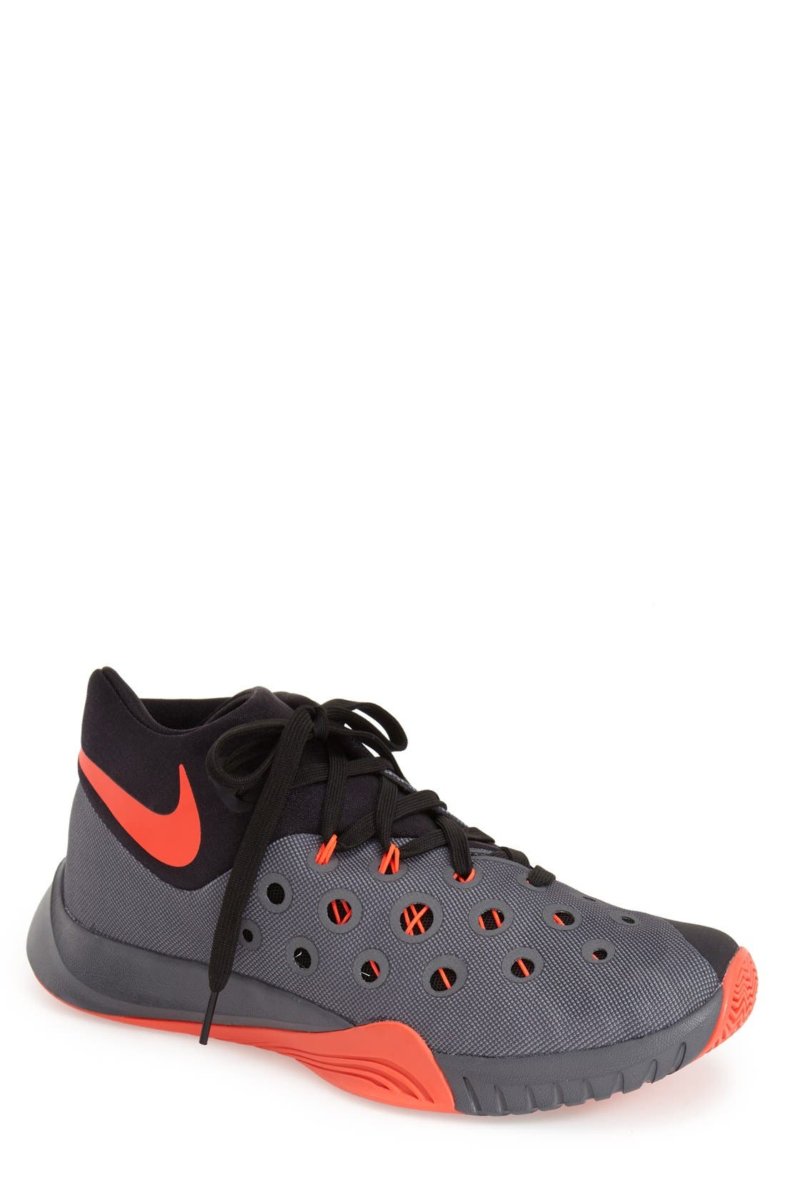 Main Image - Nike 'Zoom Hyperquickness 2015' Basketball Shoe (Men)