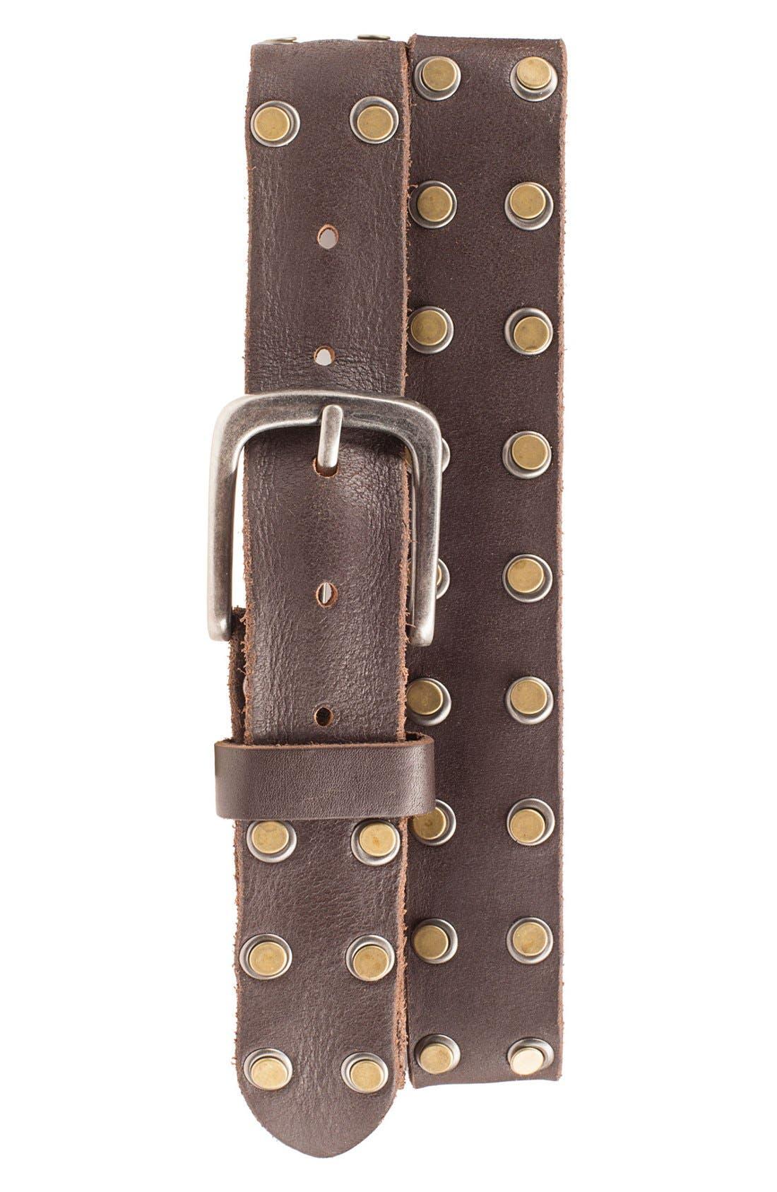 Bill Adler 1981 'Outlaw' Leather Belt