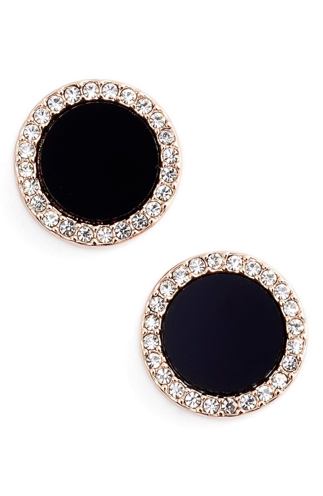 Alternate Image 1 Selected - kate spade new york 'in the spotlight' circular stud earrings