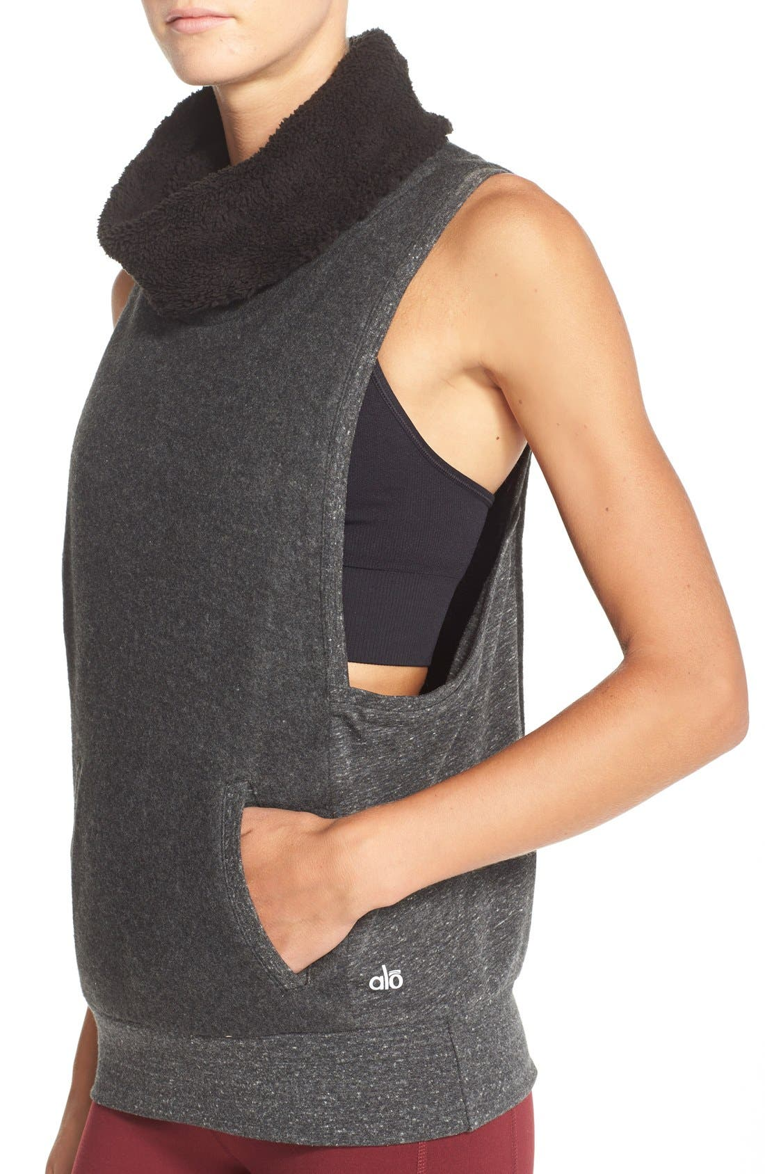 Alternate Image 4  - Alo 'Frost' Sleeveless Pullover