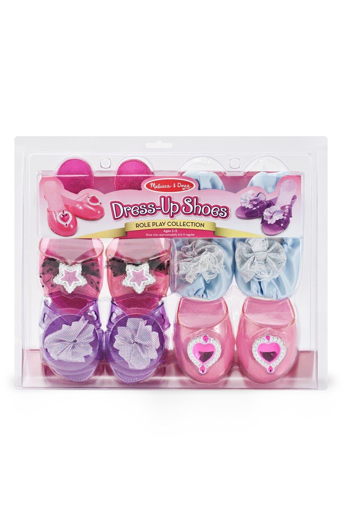 Dress-Up Shoe Set,                             Alternate thumbnail 2, color,                             Pink