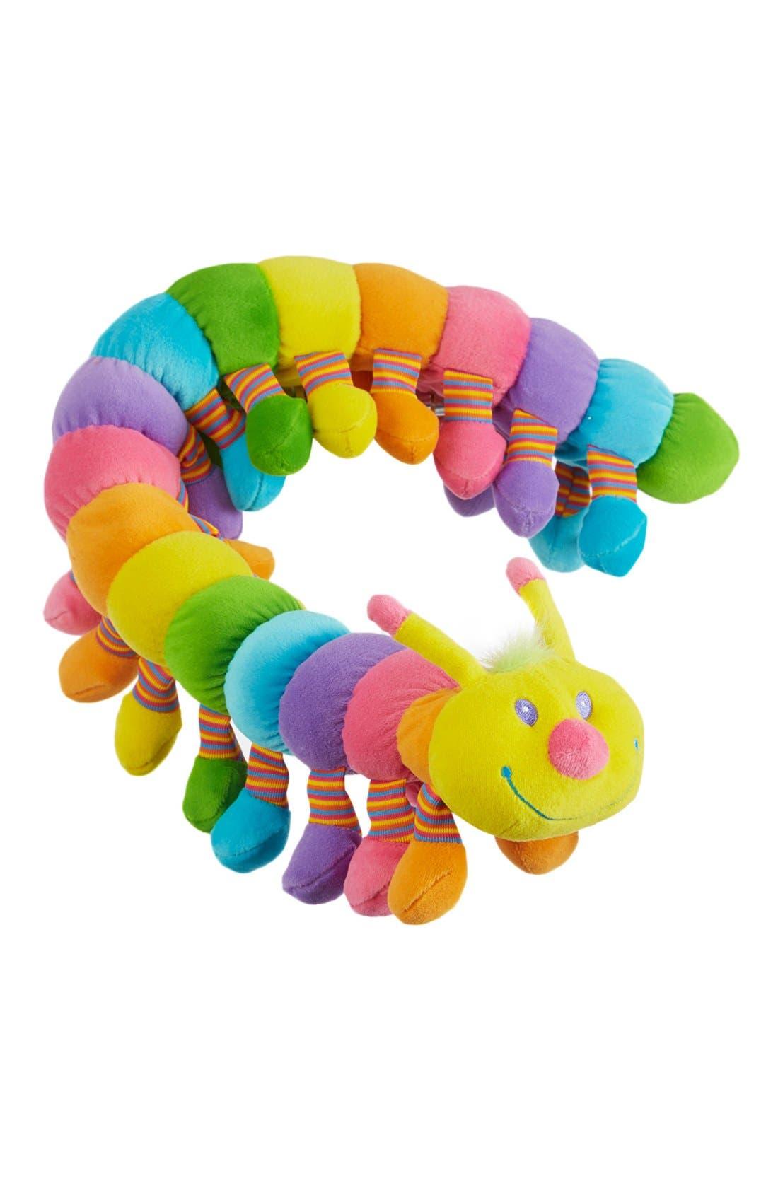 'Longfellow' Plush Caterpillar,                             Alternate thumbnail 2, color,                             Yellow
