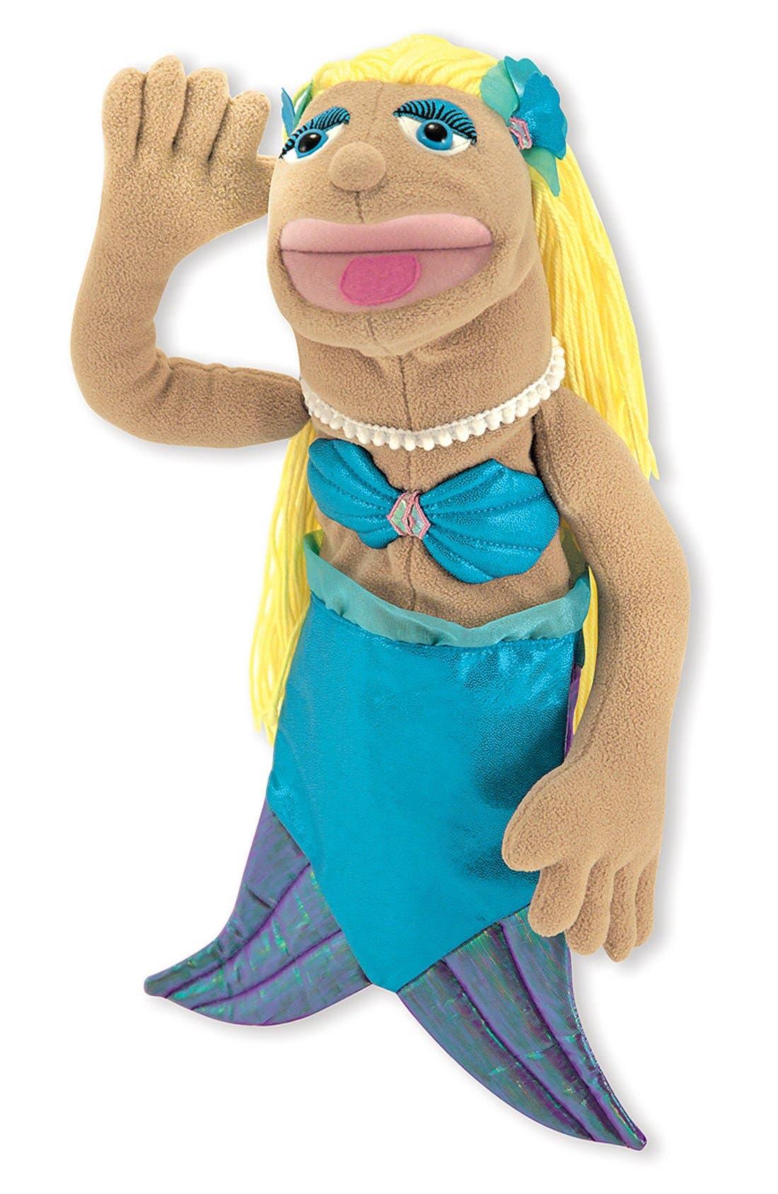 Mermaid Puppet,                             Alternate thumbnail 2, color,                             Brown