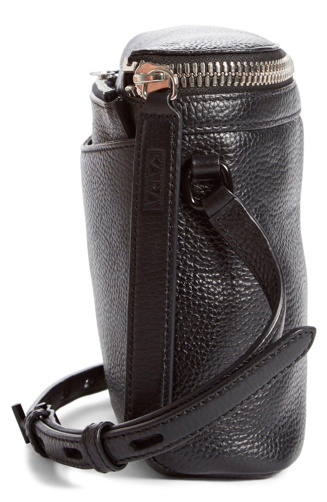 Alternate Image 5  - KARA Large Stowaway Leather Crossbody Bag