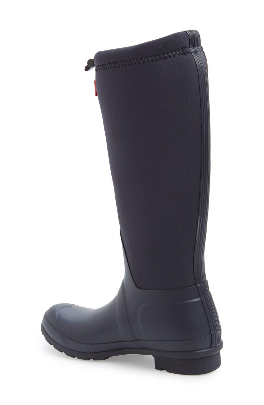 Alternate Image 2  - Hunter 'Original Tour' Neoprene Waterproof Boot (Women)