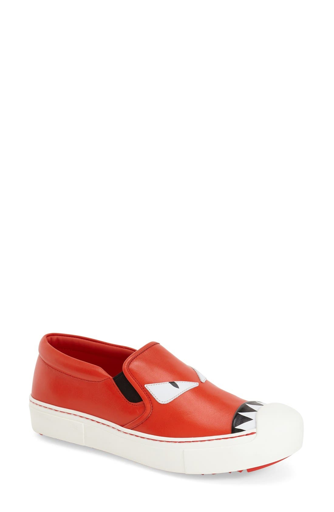 Monster Sneaker,                         Main,                         color, Papvero Leather