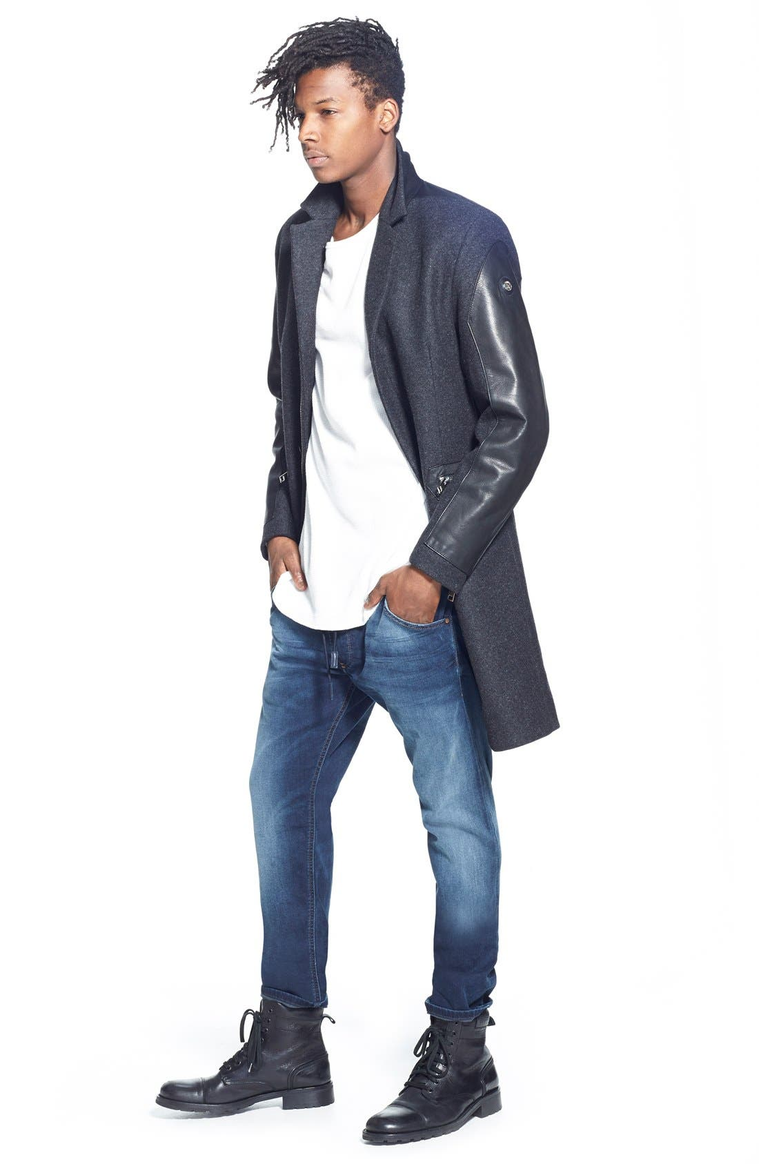 Alternate Image 6  - DIESEL® Krooley Jogg Slouchy Slim Jogger Jeans (848K)