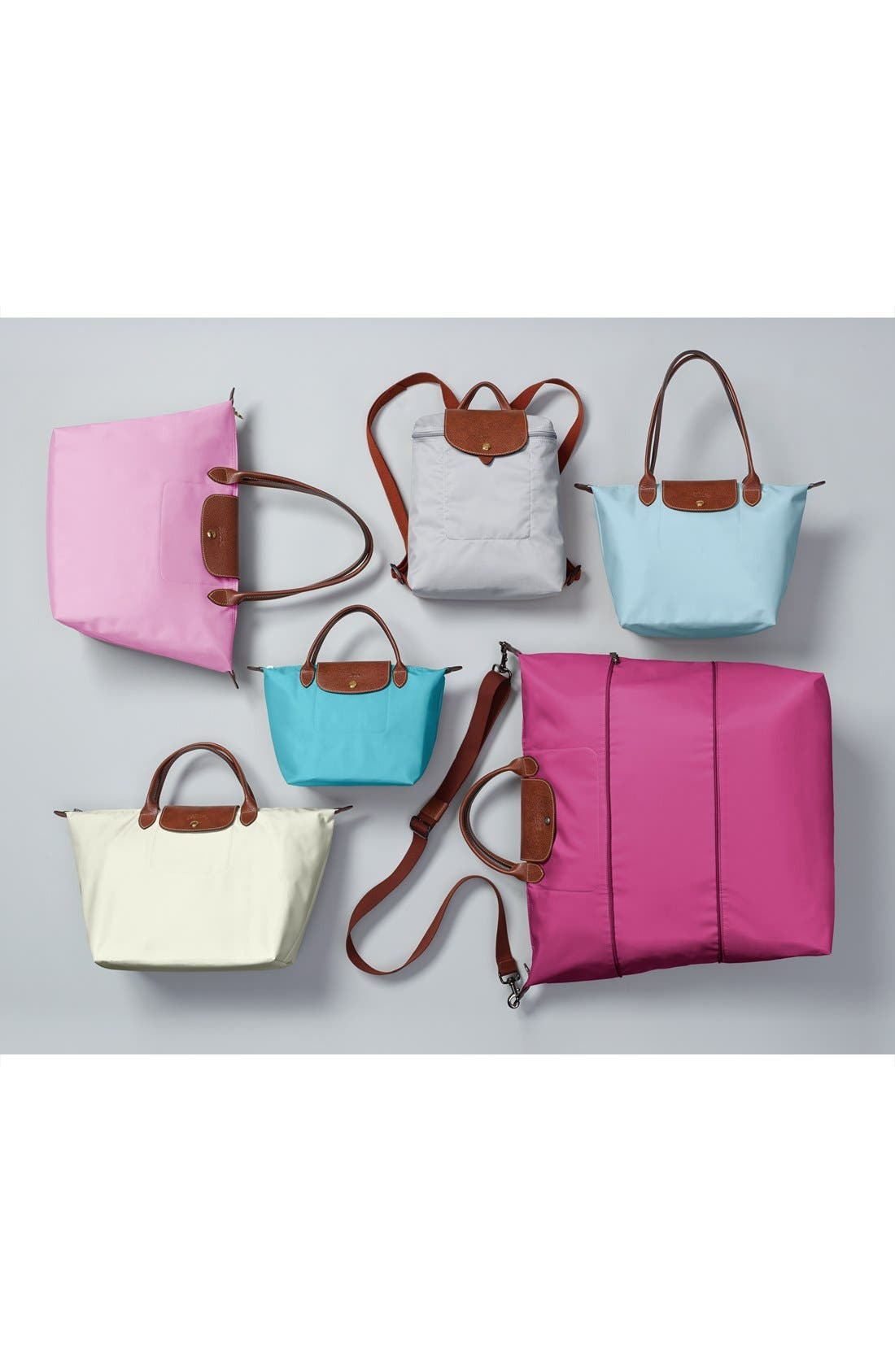 'Small Le Pliage' Tote,                             Alternate thumbnail 9, color,