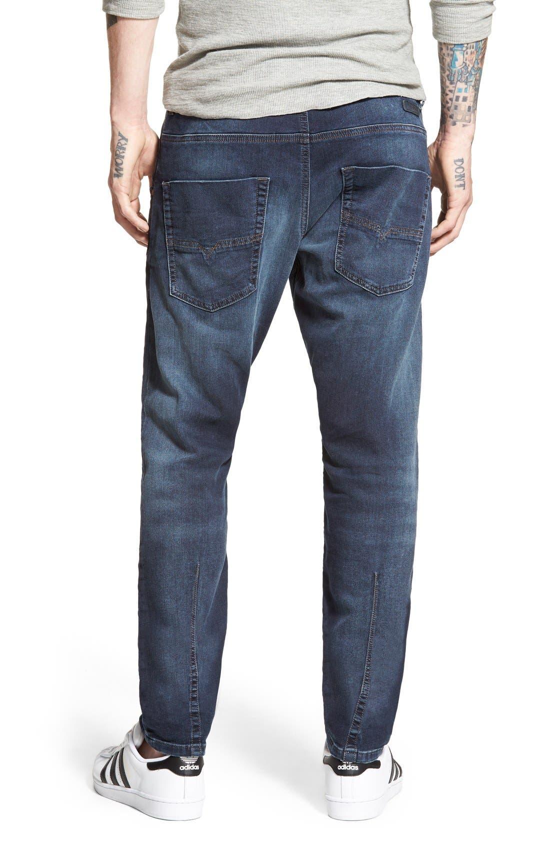 Alternate Image 2  - DIESEL® Krooley Jogg Slouchy Slim Jogger Jeans (848K)