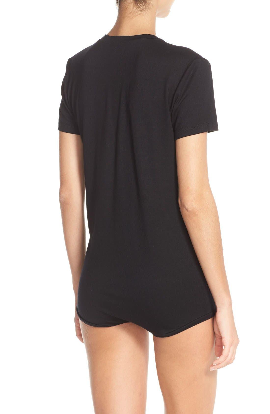 Alternate Image 2  - ALIX 'Essex' Tee Bodysuit (Nordstrom Exclusive)