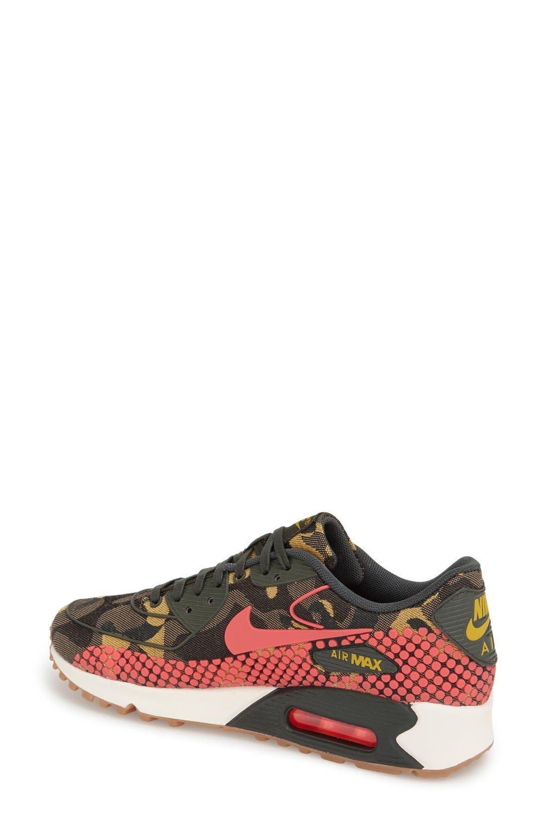 Alternate Image 2  - Nike 'Air Max 90 Jacquard' Sneaker (Women)