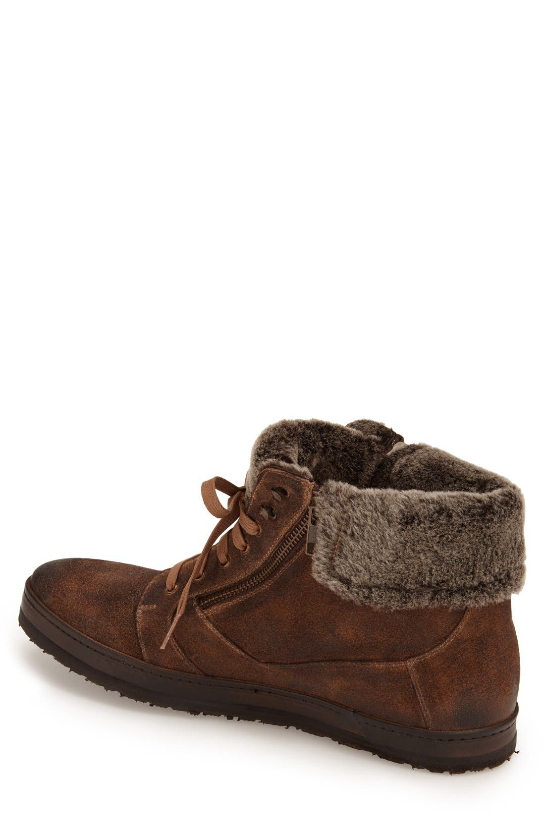 'Utrech' Sneaker Boot,                             Alternate thumbnail 2, color,                             Taupe