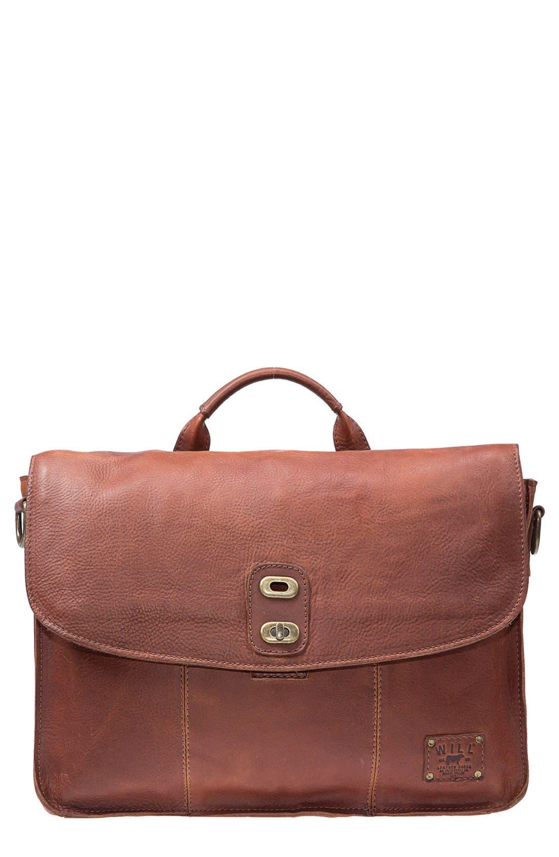 Main Image - Will Leather Goods 'Kent' Messenger Bag