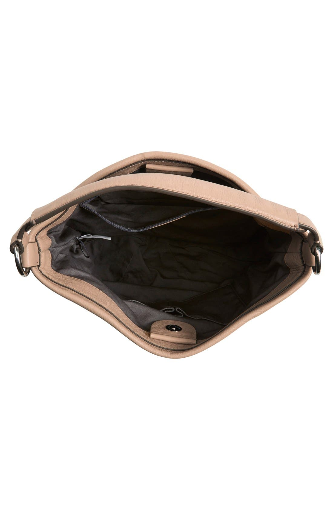 MARC BY MARC JACOBS 'New Q Hillier' Hobo,                             Alternate thumbnail 4, color,                             Cameo Nude