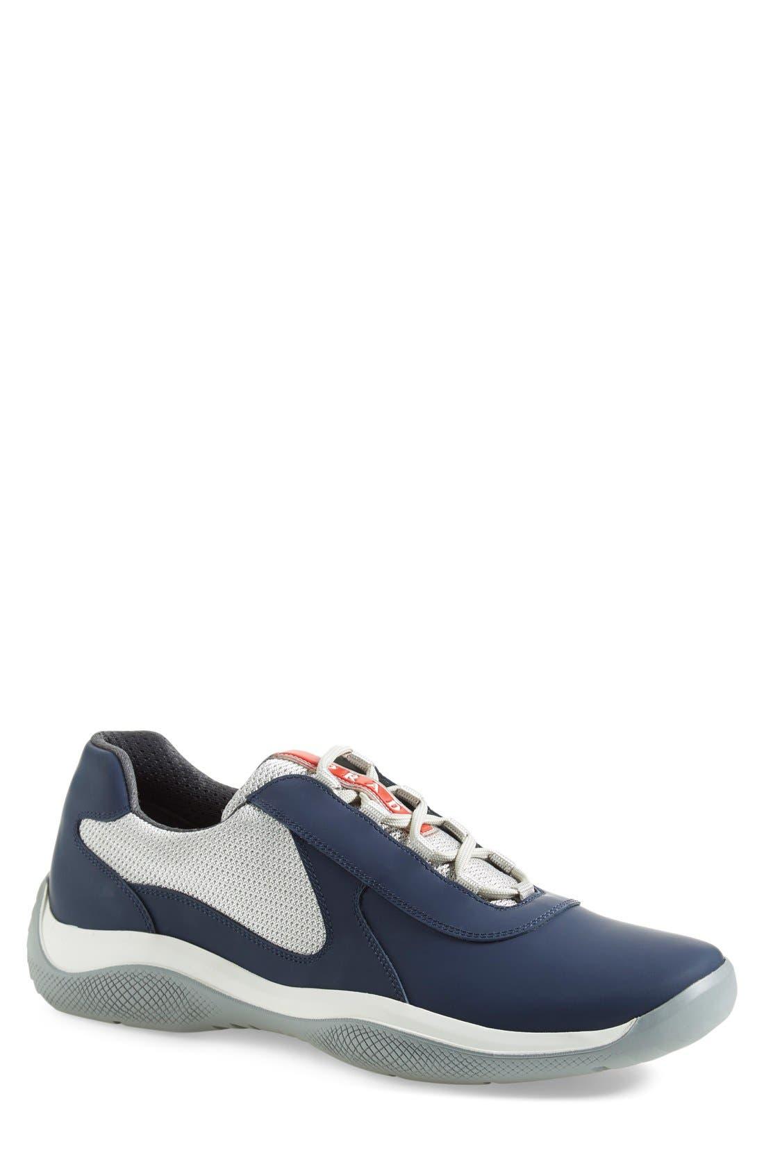 Main Image - Prada 'Punta Ala' Sneaker (Men)