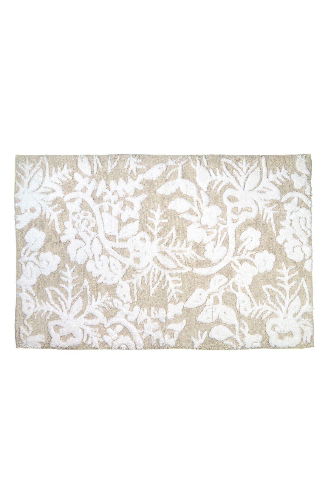 'Pasak' Bath Rug,                         Main,                         color, Linen