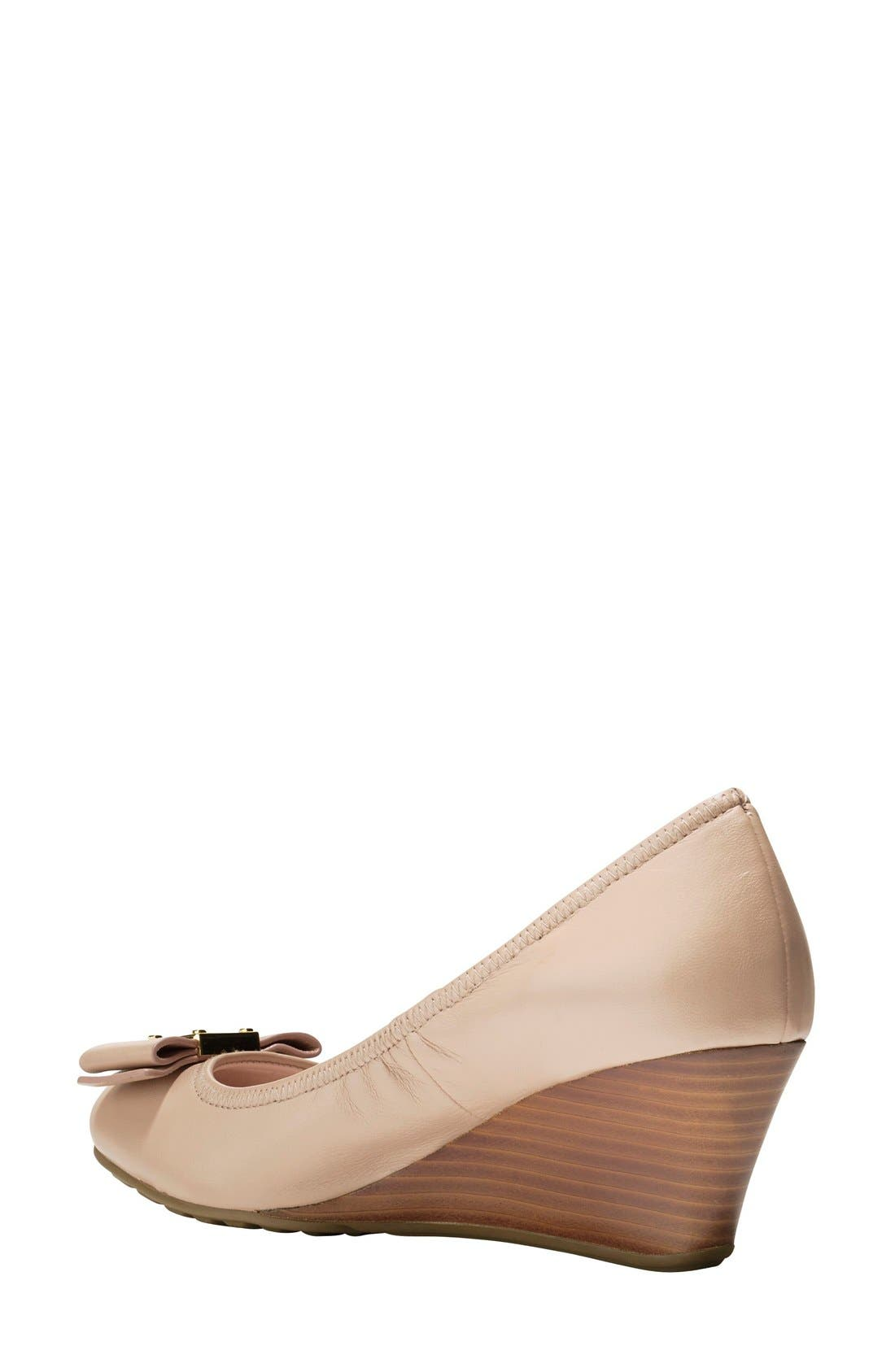Alternate Image 2  - Cole Haan 'Tali Grand' Bow Wedge Pump (Women)