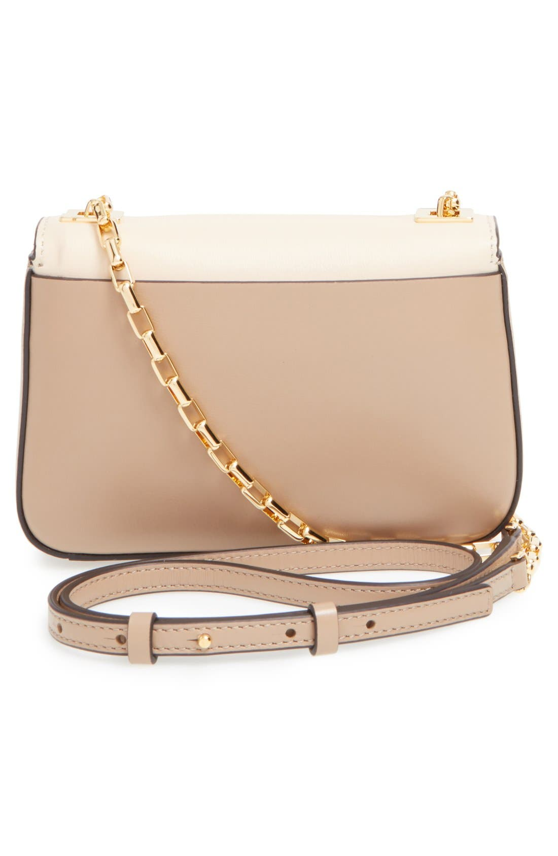 Alternate Image 3  - Michael Kors 'Small Gia' Chain Strap Leather Shoulder Bag