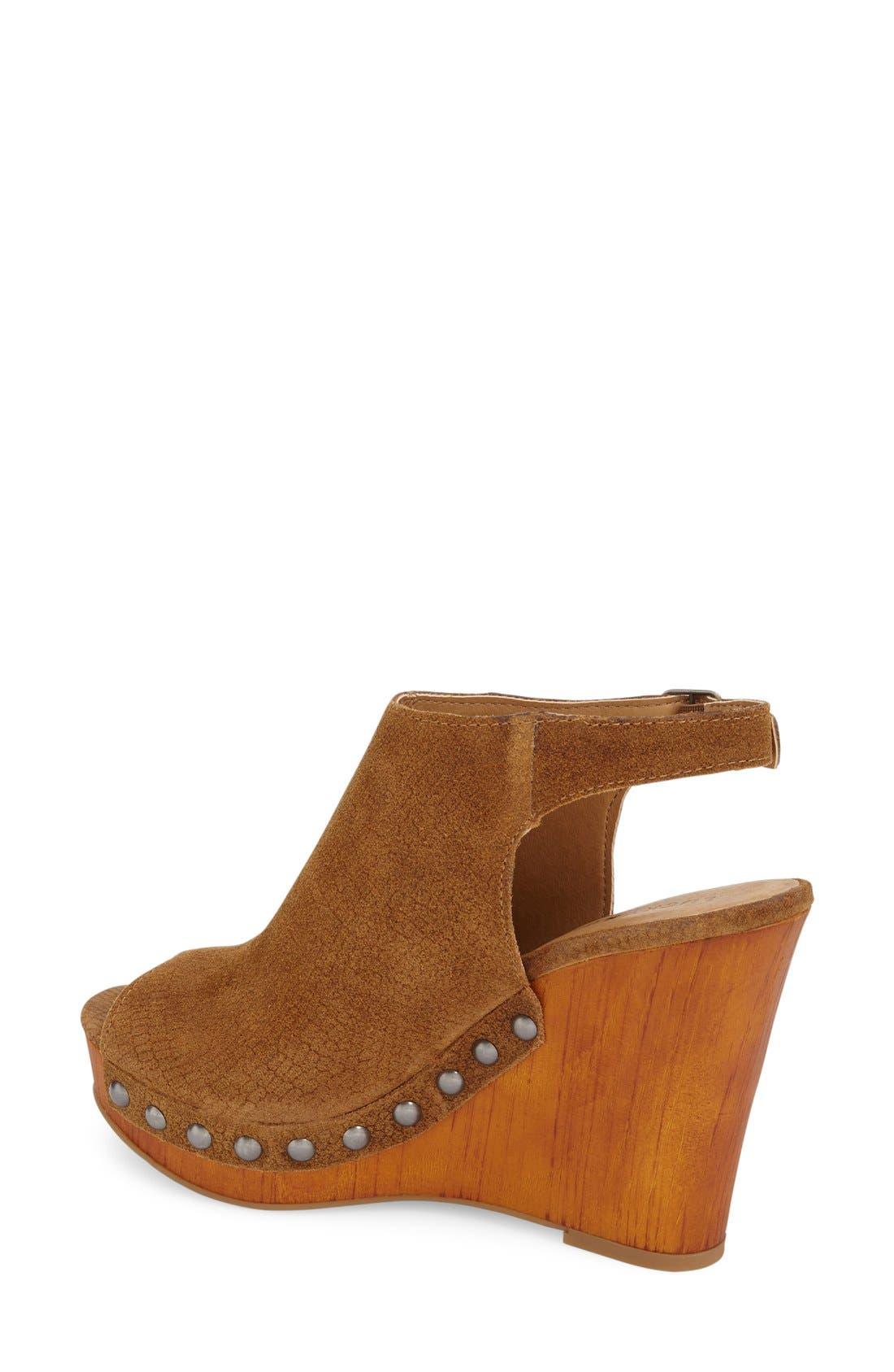 Alternate Image 2  - Lucky Brand 'Larae' Wedge Sandal (Women)
